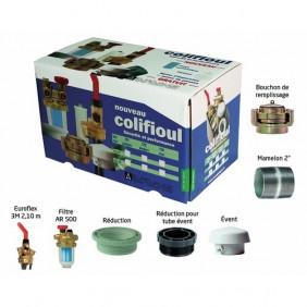 Kit Colifioul avec filtre F/F - pour cuve acier - AFRISO EUROJAUGE