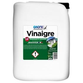 Vinaigre ménager - concentré 14° - 20 litres ONYX