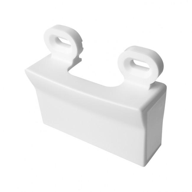 Adaptateur pour moulures blanc - Blok DEBFLEX