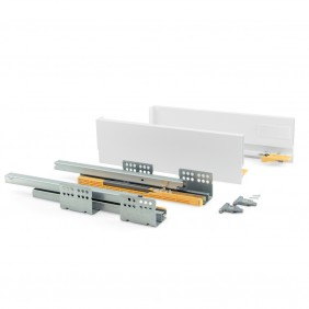 Kit tiroir Concept-hauteur 105 mm-blanc EMUCA