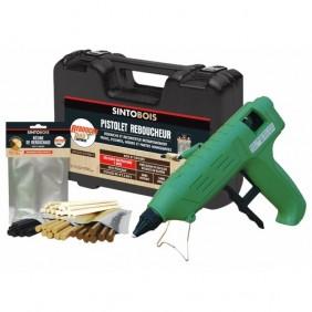 Kit standard pistolet + résine thermoplastique - Rebouche Pro Express SINTO