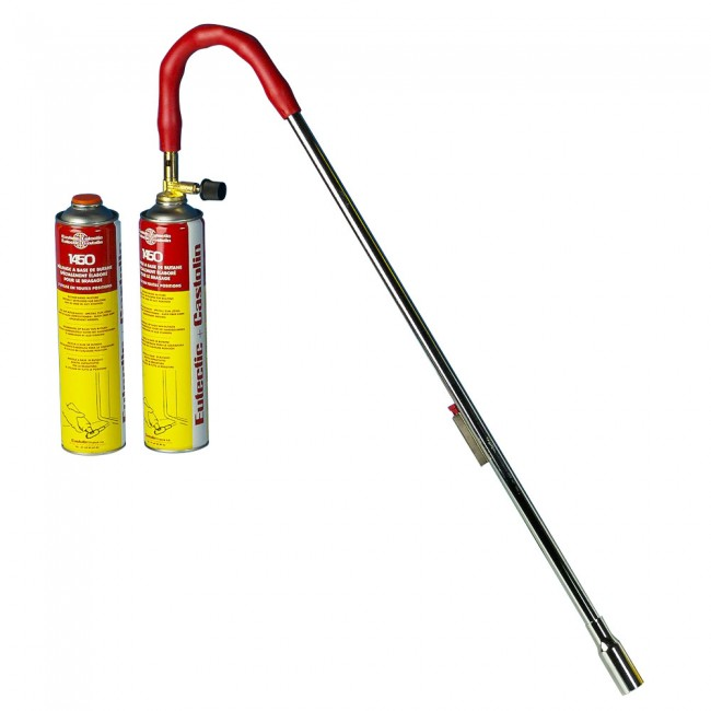 Pyro désherbeur 1450 LFB + 2 cartouches gaz CASTOLIN