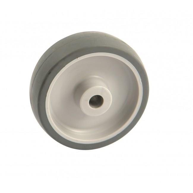Roue à bandage synthétique gris - roulement à rouleaux AVL