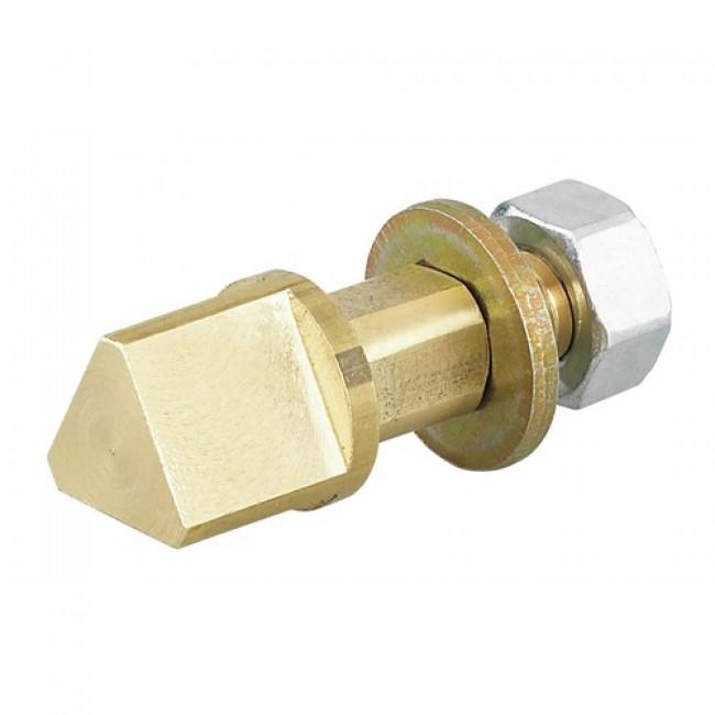 Triangle pompier 14 mm pour carré de serrure 7 mm COUILLET