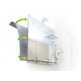 Dispositif anti-buée pour miroir - adhésif - BRICOZOR