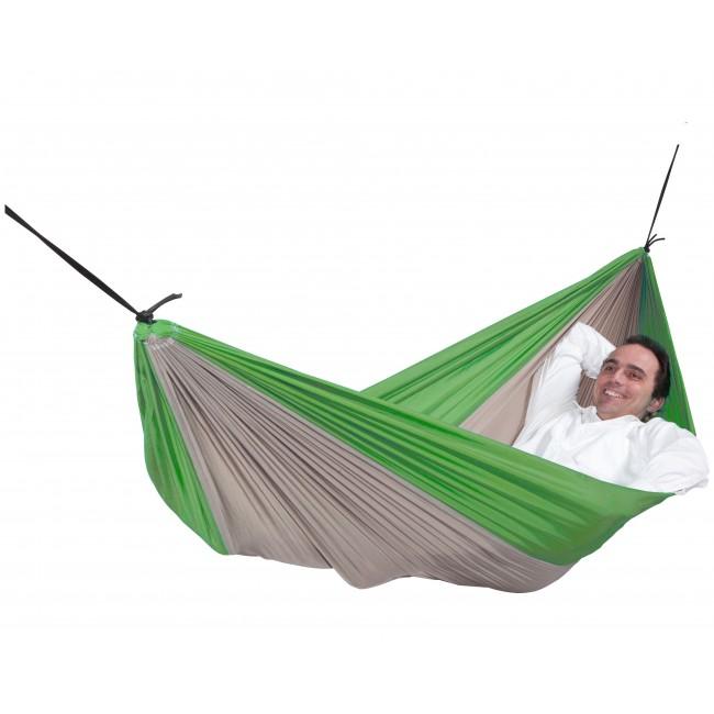 Hamac - Toile de parachute en Nylon - Skyfall Green double ESCUDEROS