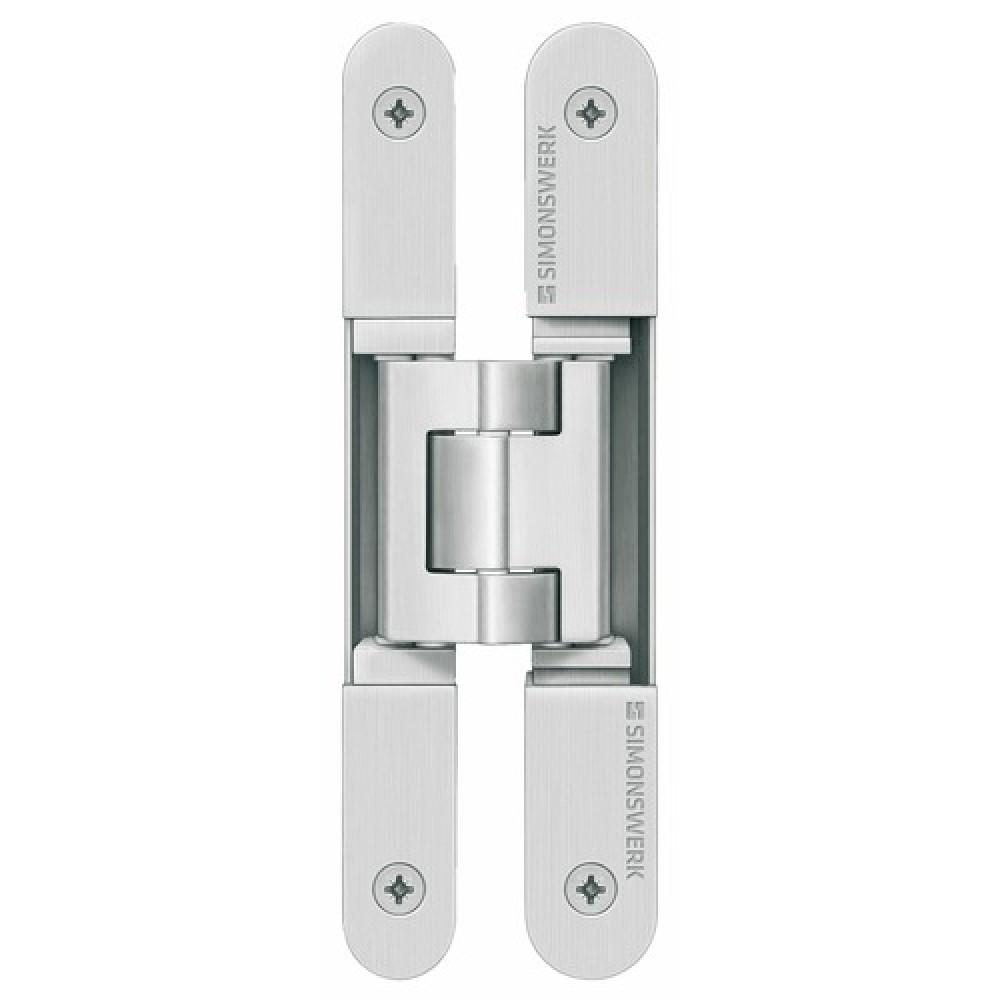 paumelles invisibles pour portes lourdes tectus 3dn simonswerk bricozor. Black Bedroom Furniture Sets. Home Design Ideas
