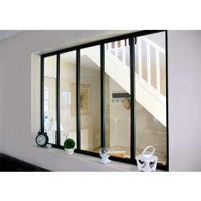 Kit verrière intérieure avec vitrage - 5 panneaux Kit Atelier