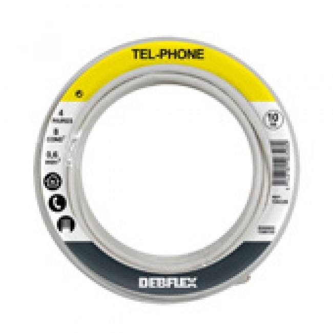 Câble téléphonique - PTT 298 - 10 m DEBFLEX