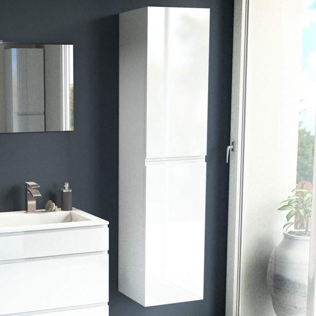 Colonne suspendue de salle de bain - Adele - 2 finitions - H 144cm BATHDESIGN