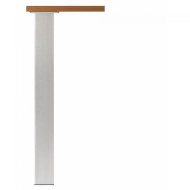 Pieds de table acier 705 Quadra 649-carré de 80 mm CAMAR