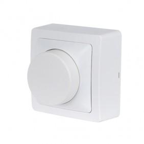 Variateur rotatif saillie complet - blanc - Blok DEBFLEX