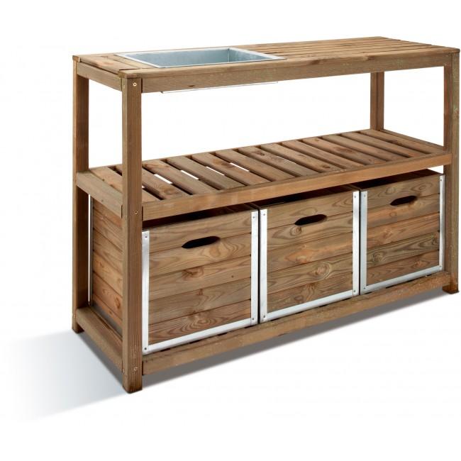 Table de préparation pour le jardinage - longueur 90 cm - Choko JARDIPOLYS