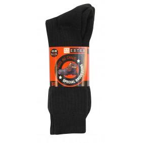 Lot de 3 paires de chaussettes laine haute résistance - Bruges ESTEX