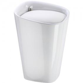Tabouret/panier à linge pour salle de bain Rectangulaire Candy WENKO