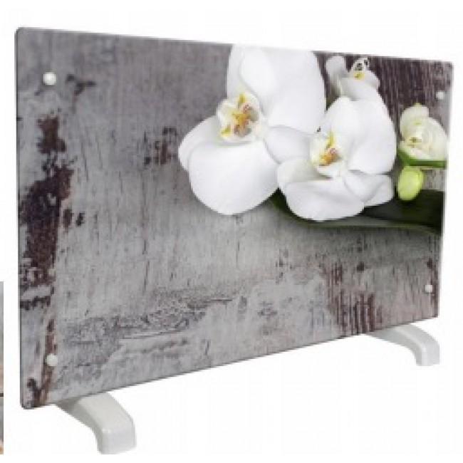 Chauffage décoratif design horizontal - 2000W - Orchidée CHEMIN' ARTE