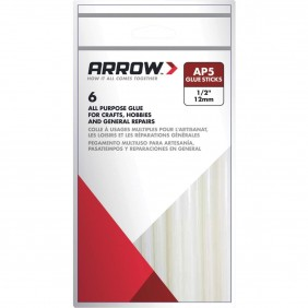 Lot de 6 bâtons de colle ARROW