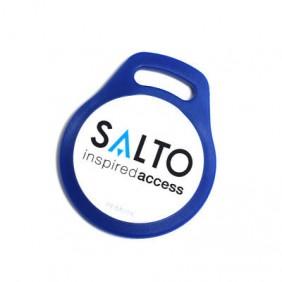 Badge porte clé bleu Mifare E9000 SALTO