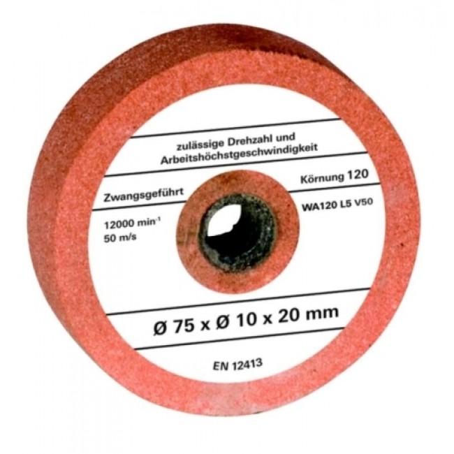 Meule touret 75x10.7x20 mm G120 EINHELL