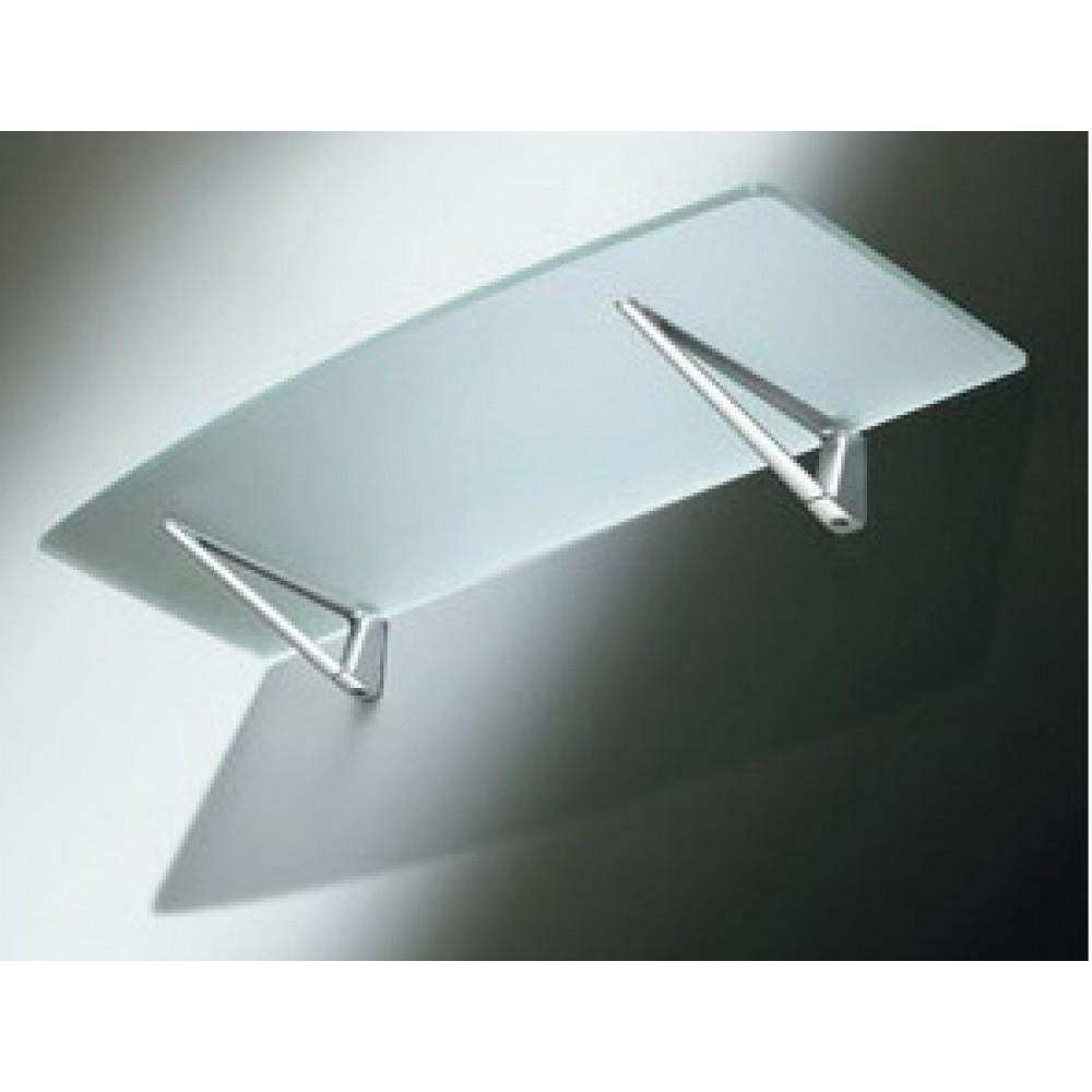 Tablette salle de bain en verre for Tablette en verre pour cuisine