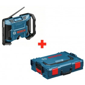 Radio de chantier GPB12V-10 en coffret L-boxx - 0615990GM8 BOSCH