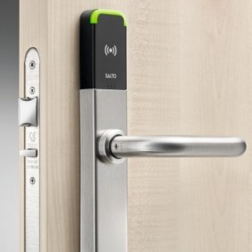 Ensemble plaques-béquilles - contrôle d'accès - MIFARE® XS4 One SALTO