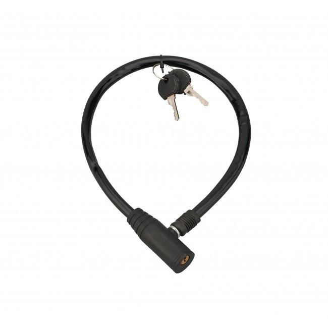 Antivol à câble acier - gainé PVC - pour cycles - 0,50 m - Twisty FTH THIRARD