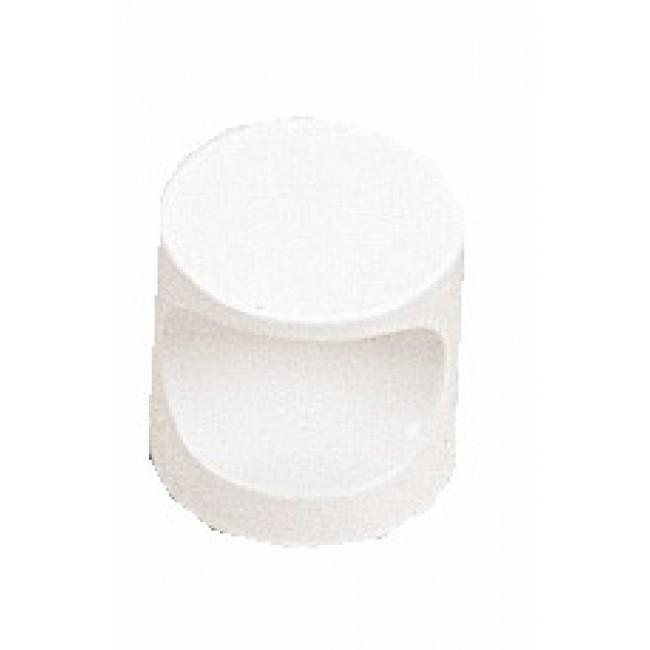 Boutons de meuble à encoche n°4 aluminium MOD
