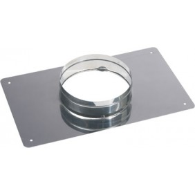 Plaque d'étanchéité inox rectangle  - dimensions 300 x 500 mm TEN