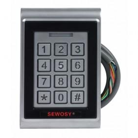 Lecteur polyvalent électronique intégré - code et badge - KR 1000 M SEWOSY