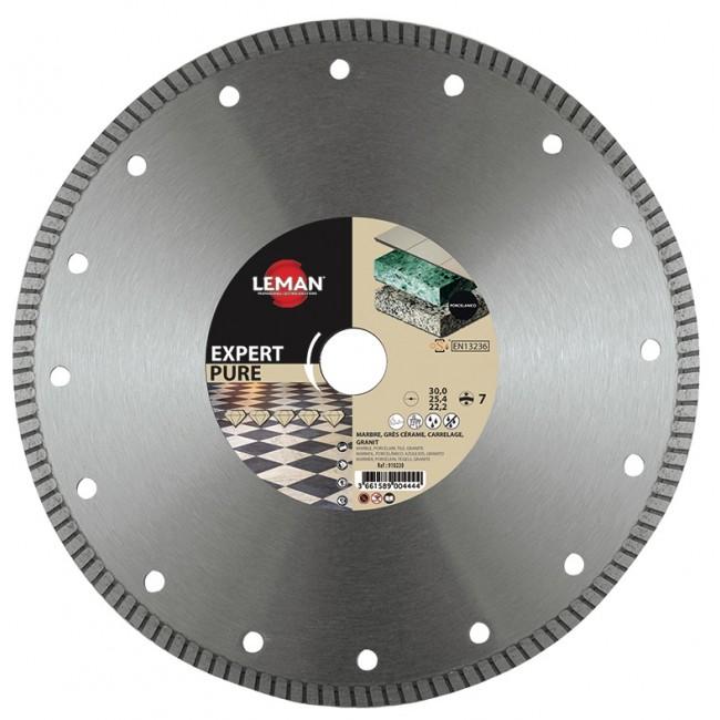 Disque diamant - Pierre, Marbre, Grès, Carrelage - 125x22,23 mm LEMAN