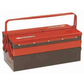 Boîte à outils - métallique - 5 plateaux de rangement FACOM