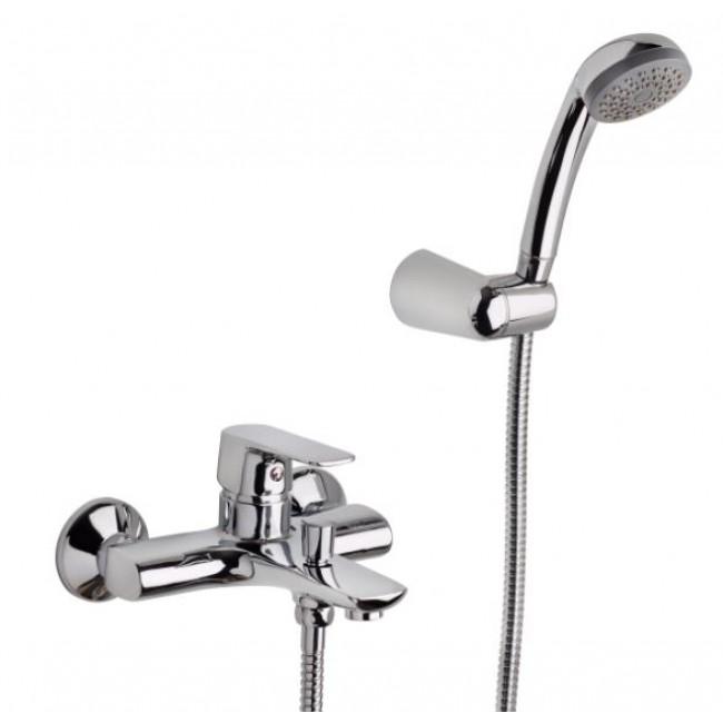 Mitigeur baignoire - avec flexible et pomme de douche - FANO SARODIS
