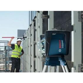 Laser rotatif GRL 500 HV + cellule de réception + trépied + mire BOSCH