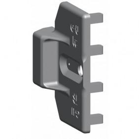 Fiche intermédiaire invisible Unijet D pour oscillo-batttants PVC FERCO