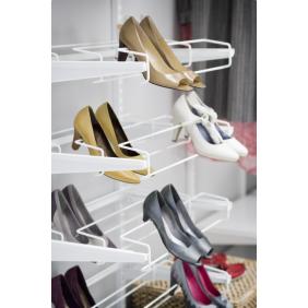 Porte-chaussures 3 rangées pour système suspendu ELFA