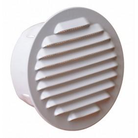 Grille de ventilation extérieur à encastrer - blanc BRICOZOR