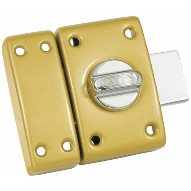 Verrou standard en applique - à bouton et cylindre - Classik ABUS