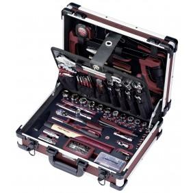 Coffret outils professionnels en aluminium - 151 pièces KRAFTWERK