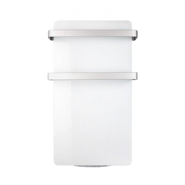 Sèche serviette blanc - en verre et extra plat -Différentes puissances HAVERLAND