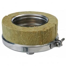 Purge verticale isolée - double paroi inox - 80 x 130 mm - Duoten TEN