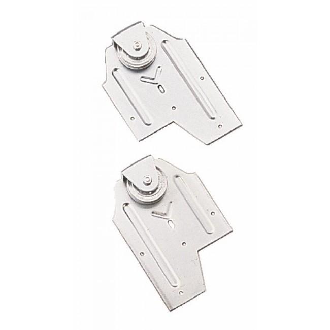 Monture à galet pour porte coulissante - Sport 400 MANTION