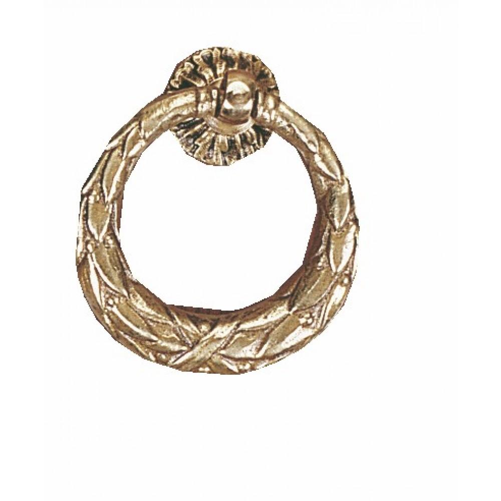 Poign e anneau louis xvi bronze dubois bricozor for Bronze pour meuble de style