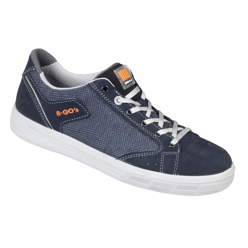 premier taux fa716 c9846 Chaussures de sécurité basses type tennis bleu - DALLAS GERIN sur Bricozor