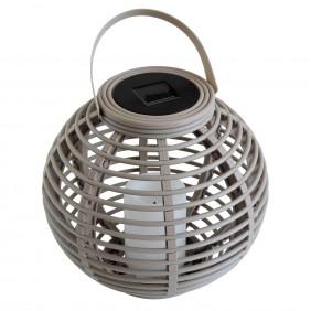 Lanterne diamètre 22.5cm taupe FINE GARDEN