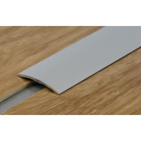 Seuil aluminium naturel pour porte - renforcé 40 mm - adhésif butyle - 2700 mm DINAC