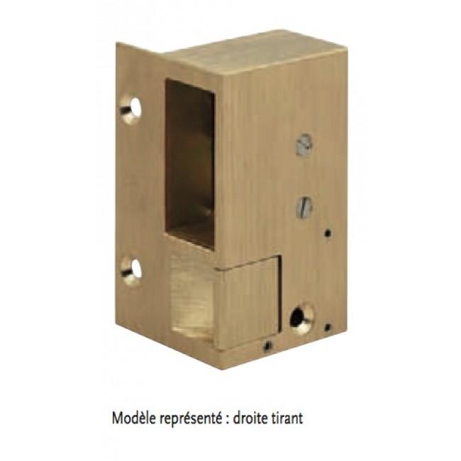 Gâche électrique à émission et contact stationnaire - 12 volts - N°1 MÉTALUX
