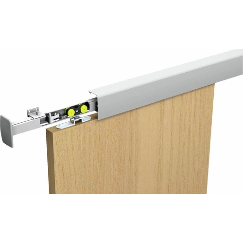 rail haut pour porte coulissante saf 40 et saf 80 mantion. Black Bedroom Furniture Sets. Home Design Ideas