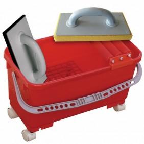 Kit de jointage et de nettoyage - essorage à rouleaux - pose carrelage TALIAPLAST