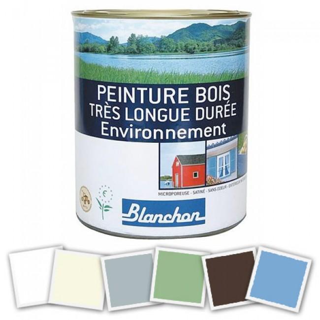 Peinture microporeuse bois très longue durée - Environnement BLANCHON